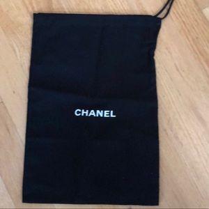 NEW CHANEL shoe dust bag